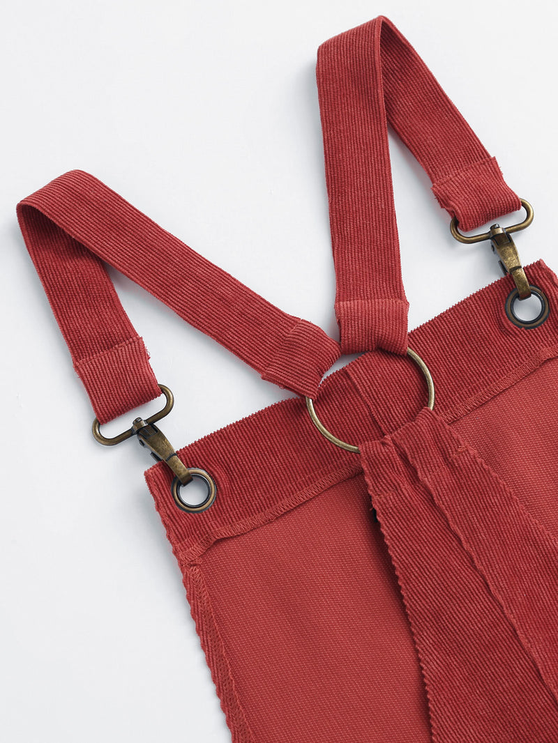 Lobster Claw Hook Strap O-Ring Back Cord Overalls