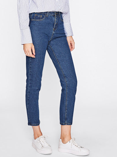 Basic Ankle Jeans