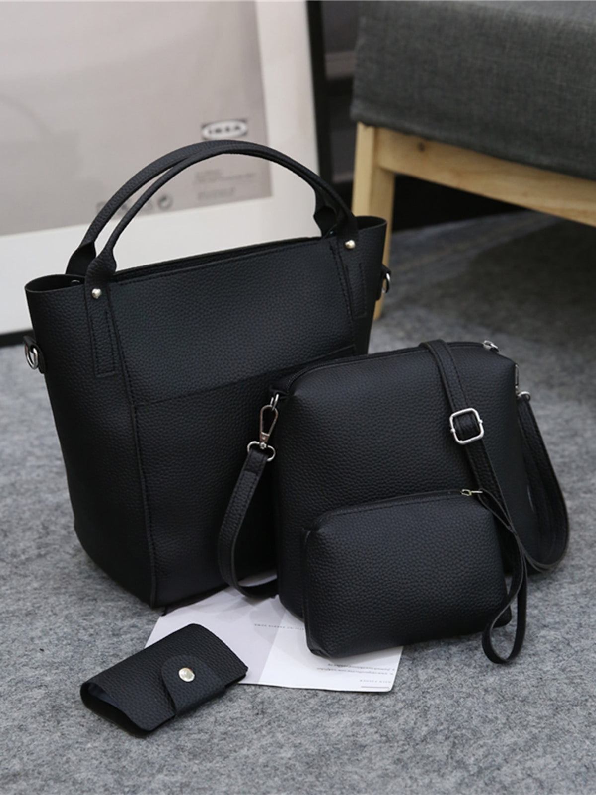 PU Combination Bag Set 4pcs