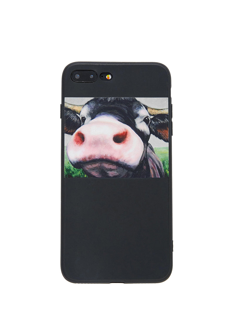 Cattle Print iPhone Case