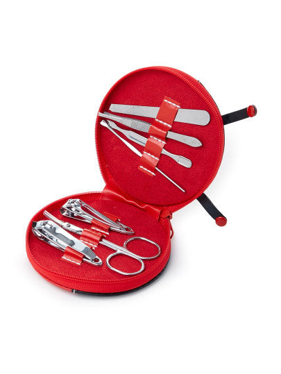 Nail Clippers Set With Ladybird Shaped Bag