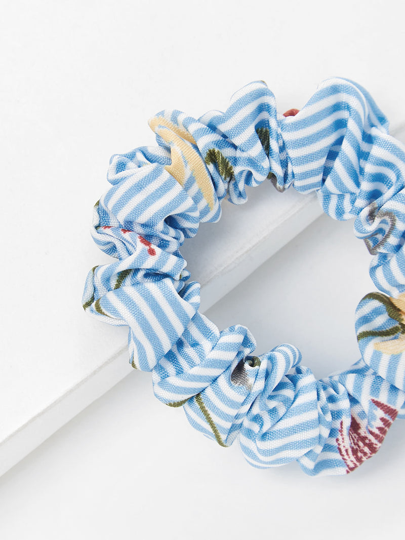 Striped Hair Tie 2pcs