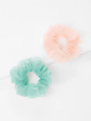 Two Tone Hair Tie 2pcs