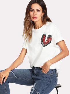 Break Heart Front Tee