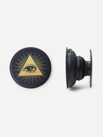 Triangle & Eye Pattern Portable Phone Holder
