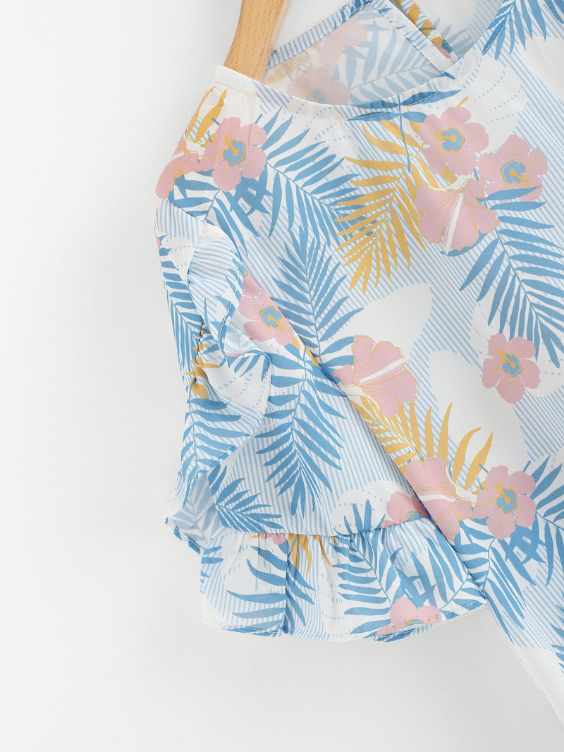 Botanical Print Blouse