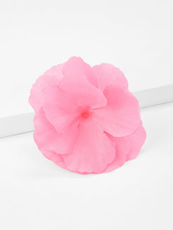 Flower Decorated Kids Hair Clip