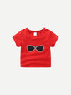 Kids Glasses Print Tee