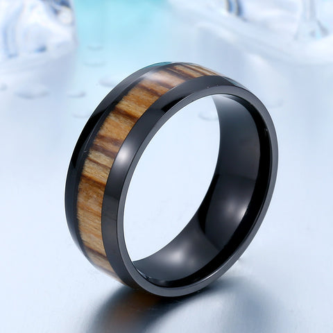 Wood Polished Ring