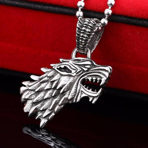 Wolf Necklace Pendant