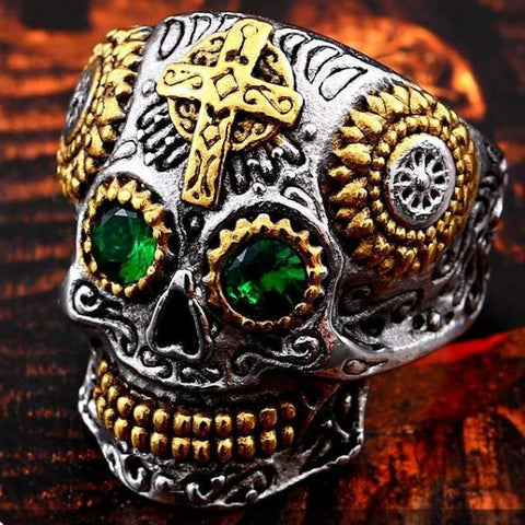 Gothic Carving Ring