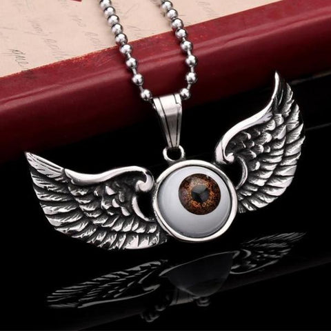 Winged Eye Pendant