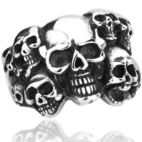 Unique Design Skull Ring