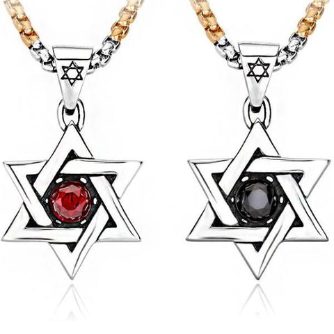 Hexagram Necklace Pendants