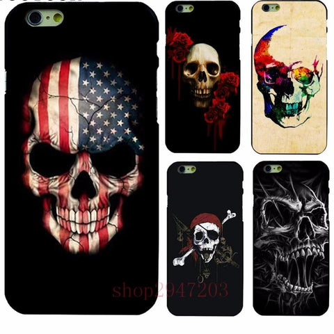 Skull Shell  For Apple iphone