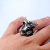 Goat Head Ring