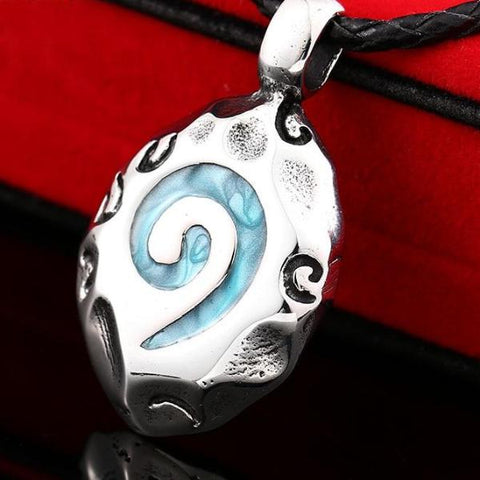 Glass Round Pendant
