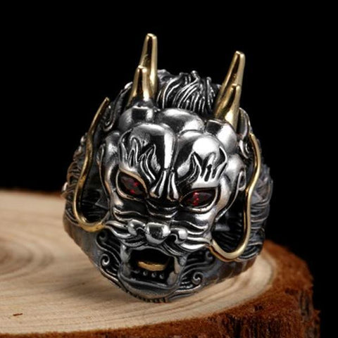 Dragon Ring  Silver