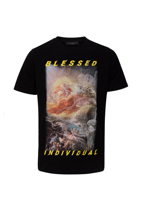 Collision World Tee - Blessed Individual