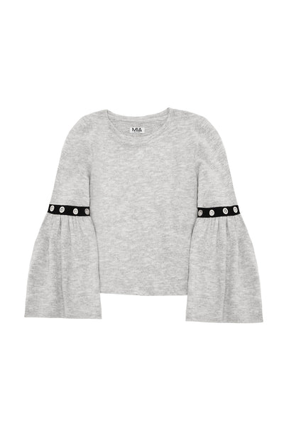COZY SWEATER HEATHER GRAY