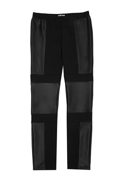 SHARP PONTE PANTS BLACK