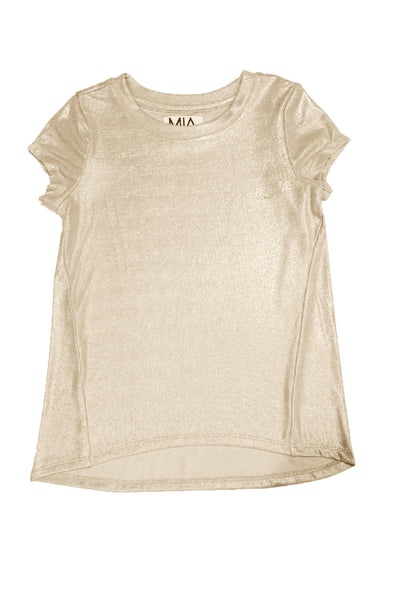 METALLIC SHINE TEE