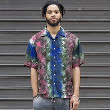 Mens Button Down African Shirt