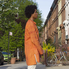 90S Mens Orange Kurta