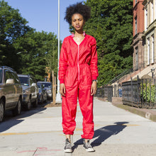 80s Nylon Jumpsuit