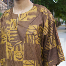 Cowrie Graphic African Shirt
