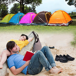 Camping/Outdoor 1-2 Person Durable Waterproof Camping Aluminum Tent High Quality