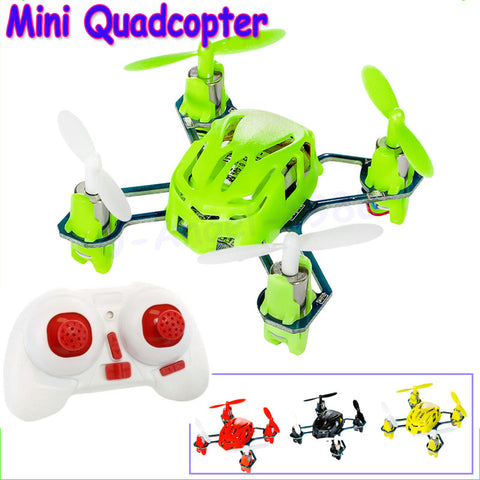 Wholesale 1pcs 100% Original Hubsan Q4 H111 Quadrocopter 4CH 6-axis Gyro 2.4GHz RC Quadcopter RTF UFO Mini Drone with LED Light