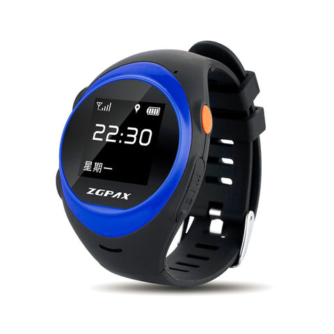 ZGPAX Smart Watch With SOS GPS Smartwatch S888  Anti Failing Alarm Tracker For Man Woman Kids Gift High Quality!