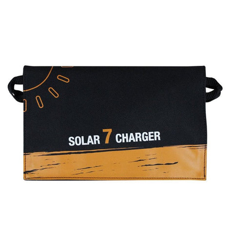 Dustproof Waterproof Camping Travel Solar Panle USB Charging Battery Charger Foldable Solar Charging Bag For Phones