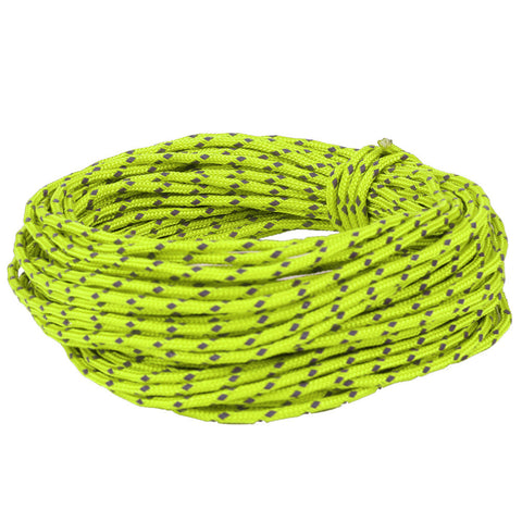 2.5MM Multifunctional Outdoor Reflective String Windproof Tent Rope Strengthed Camping Rope Reflective Rope Accessories