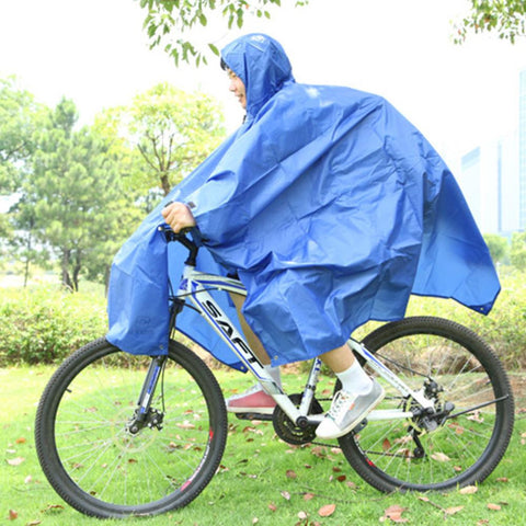 3 in 1 Multifunctional Raincoat Outdoor Travel Rain Poncho Backpack Rain Cover Waterproof Tent Awning Climbing Camping Hiking