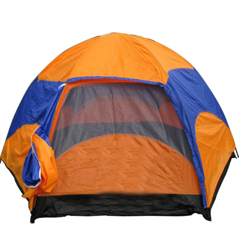 Hot Sale waterproof Oxford Fabric Double Layers Tent large space 6-8 person 4 season outdoor travel camping hiking tent