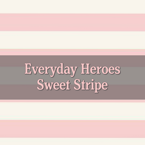 Kickee Pants Preorder Everyday Heroes Sweet Stripe