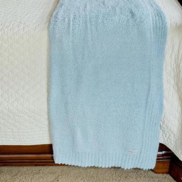 Saranoni Bamboni Toddler to Teen Blanket: Light Blue