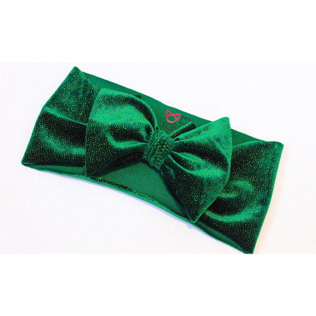 Little Lopers Bow Velvet Sparkle Duo: Mistletoe and Holiday Berry