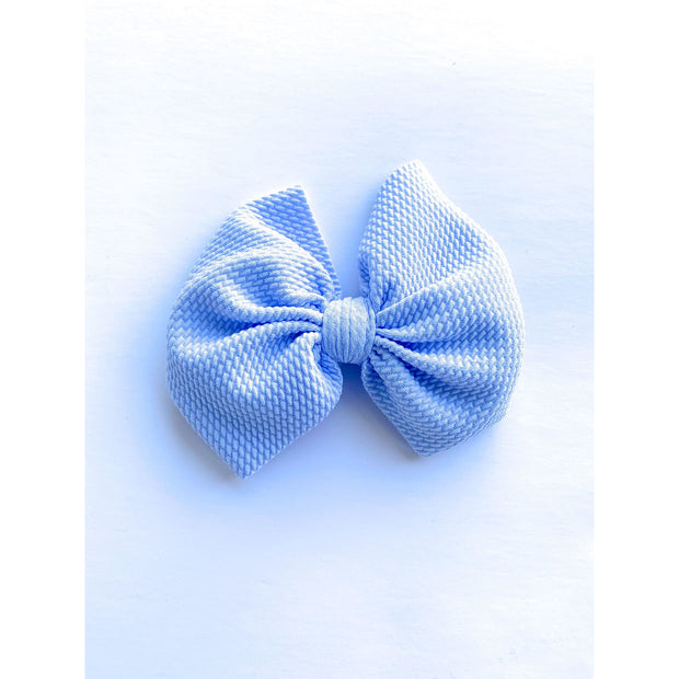 Little Lopers Bow: Baby Blue