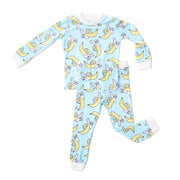 Little Sleepies Two-Piece Pajama Set: Bananas