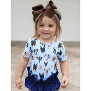 Little Lopers Ribbon Bow: Brown