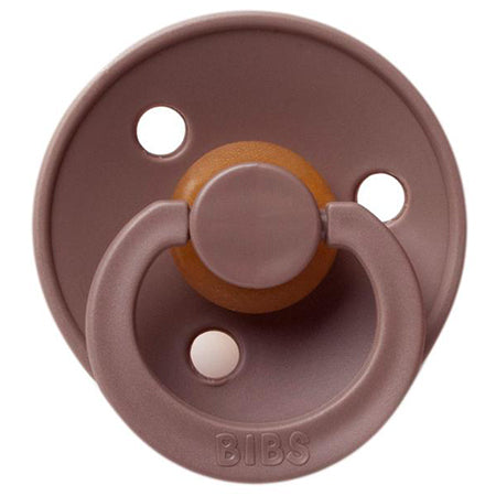 BIBS Pacifiers: Classic Round - Chestnut