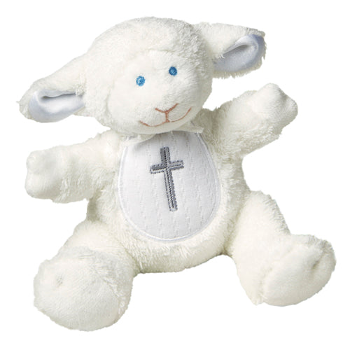 Mary Meyer: Christening Lamb Rattle - 5""