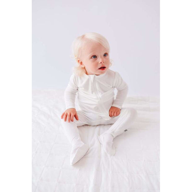 Kyte Baby Zippered Footie: Cloud