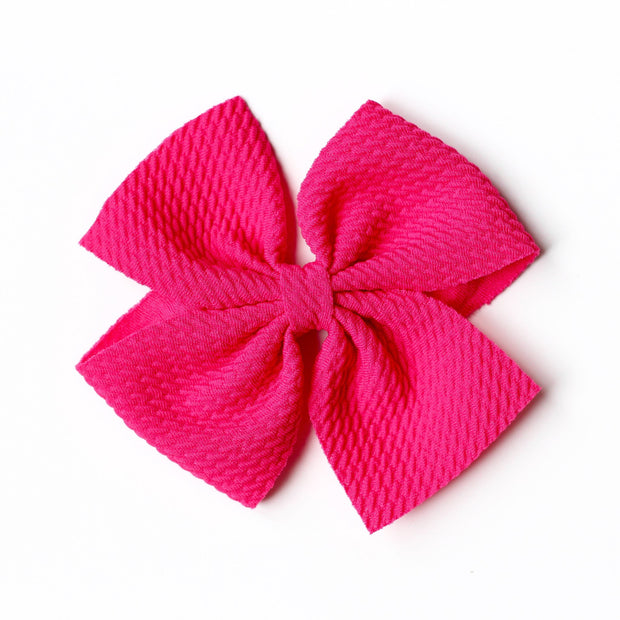 Little Lopers Butterfly Bow: Dragonfruit (All Styles)