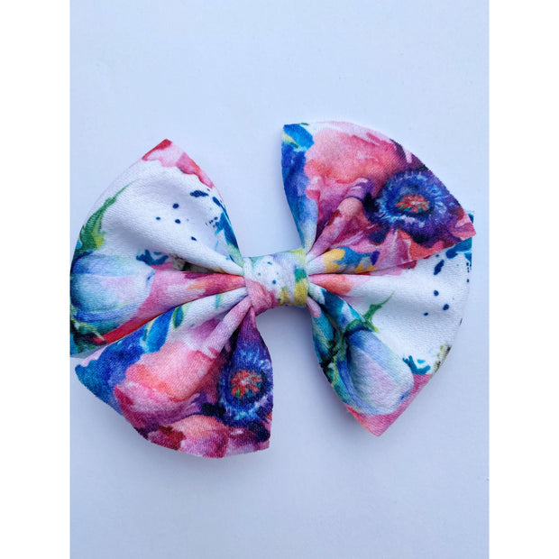 Little Lopers Butterfly Bow: Daisy Craze (All Styles)