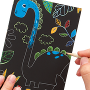 OOLY: Mini Scratch & Scribble Art Kit - Dino Days