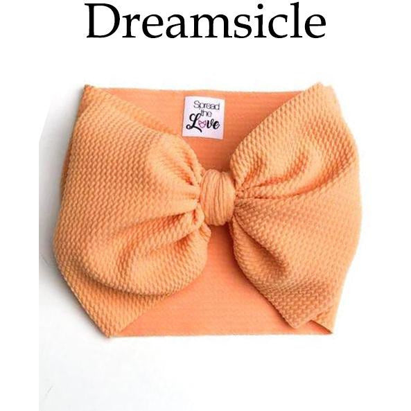 Little Lopers Bow: Dreamsicle (All Styles)